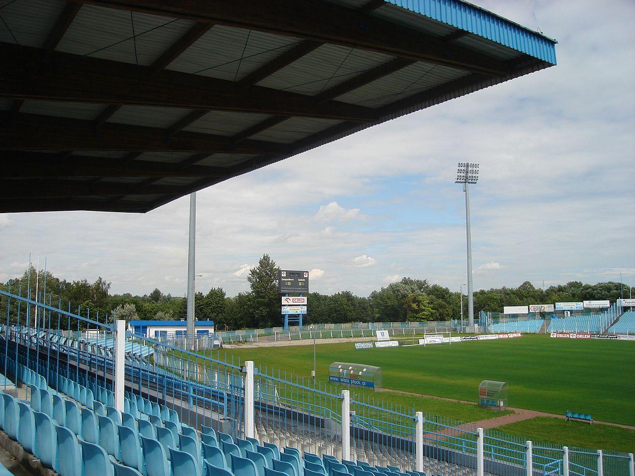 stadion wisła płock